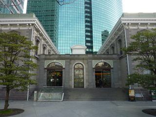 旧新橋停留場鉄道歴史展示室.JPG